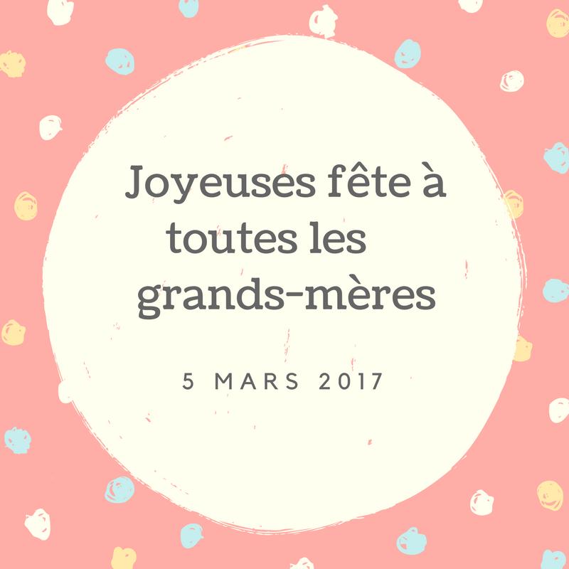 Fête des grands mères 2017