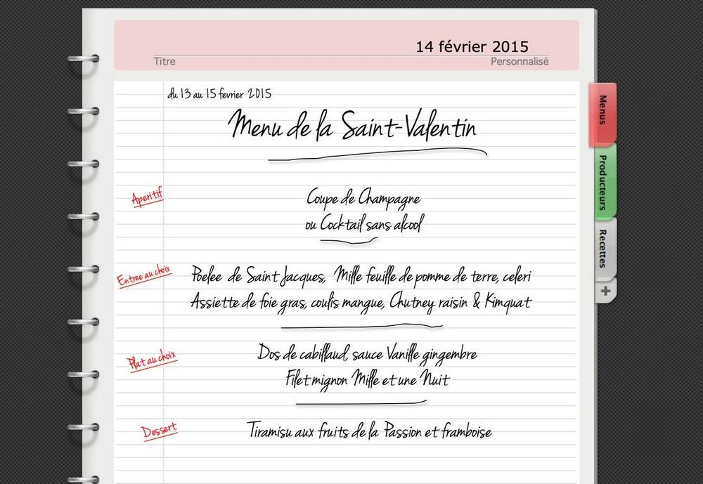 C'est bientôt la St Valentin 2015 !